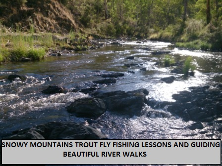 The Fly Fishing Rivers in Tumut are beautiful