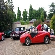 Triumph Car Club Group at Boutique Motel Sefton House Tumut Accommodation