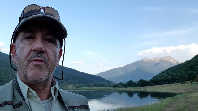 Tane from Tumut Fly Fishing at Strezevo Lake, Capari Pelister